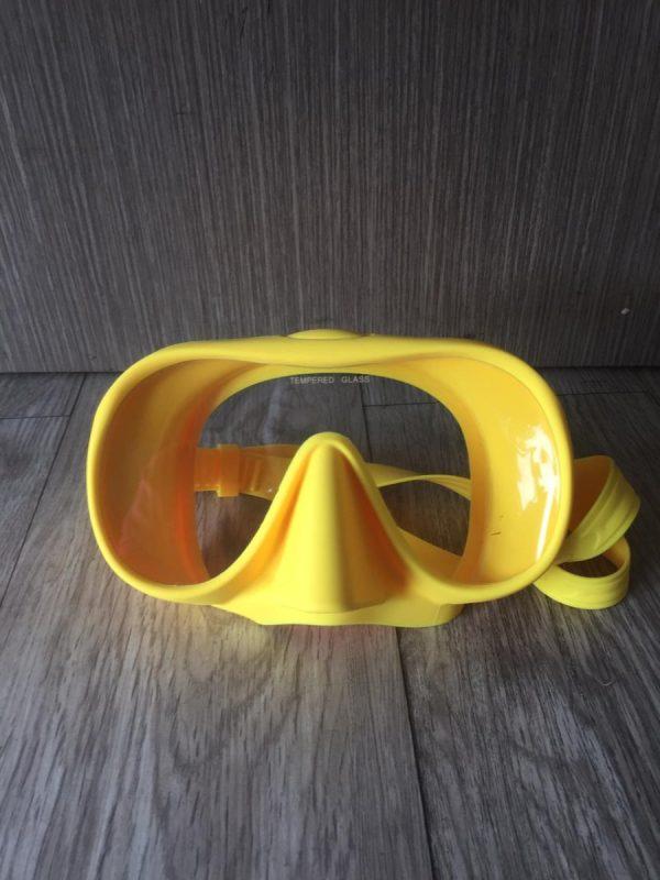 Mask Diving Antifog OEM - Yellow
